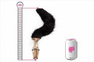 Análny kolík Cat Tail - plechovka