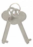 Kvalitné putá na ruky s plyšom - klíčky
