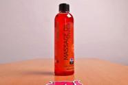 Shiatsu hrejivý masážny olej - fotenie v predajni Ružový Slon Havířov