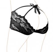 Čipkované nohavičky Pinkie Black
