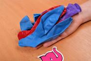 Nafukovacie balóniky Big Boobs - fotenie v predajni Ružový Slon Havířov