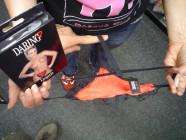 Prádlo ženy nohavičky červené srdce SL