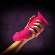 Fun Factory The Boss dildo s prísavkou (18 cm), ružové