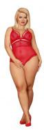 Plus size Obsessive body Crimson