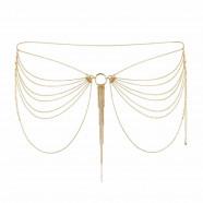 Zlatá retiazka na zadoček Bijoux Indiscrets Magnifique