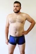 Modré boxerky Connor – tester Honza