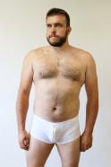 Biele boxerky Angel Wings – tester Honza