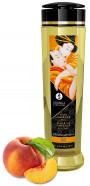 Shunga Stimulation masážny olej broskyňa (240 ml)