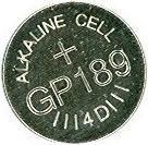 Batéria LR54 GP189 1,5 V