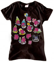 Dámske tričko 13 slonov