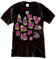 Pánske tričko 13 slonov