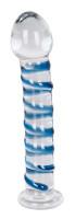 Sklenené dildo Arts Clair Bleu (17 cm)