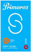 Primeros Soft Glide – extra lubrikované kondómy (12 ks)