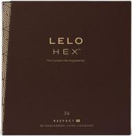 LELO Hex Respect – XL kondómy (36 ks)