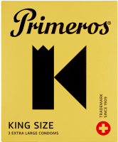 Primeros King Size – XL kondómy (3 ks)