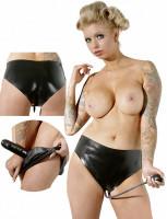 LateX nohavičky s nafukovacím dildom Verona