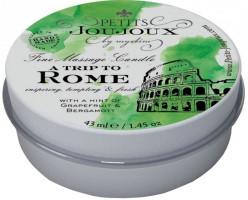Masážna sviečka To Rome with Love