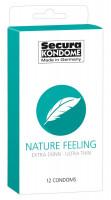 Secura Nature Feeling - ultratenké kondómy (12 ks)