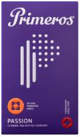 Primeros Passion - vrúbkované kondómy (12 ks)