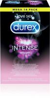 Durex Intense Orgasmic – vrúbkované kondómy (16 ks)