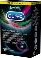 Durex Mutual Pleasure – vrúbkované kondómy (16 ks)
